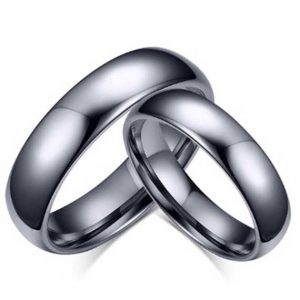 couples-polished-silver-tungsten-rings-4mm-and-6mm